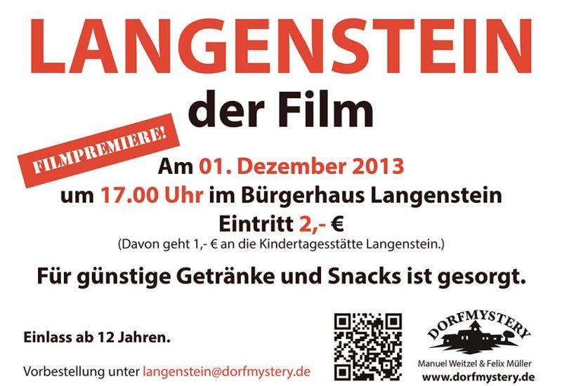 Langenstein Filmplakat